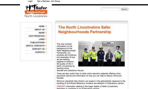 North Lincolnshire Safer Neighbourhoods Partnership