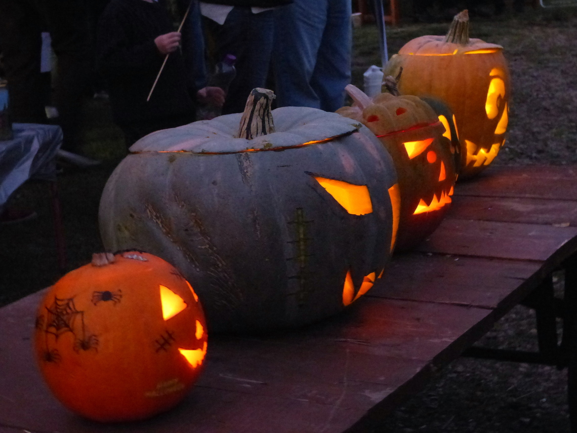 Carved pumpkin competition