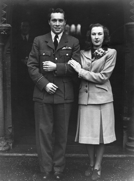 1942 Wedding at St Thomas Church Bradwell-on-Sea
