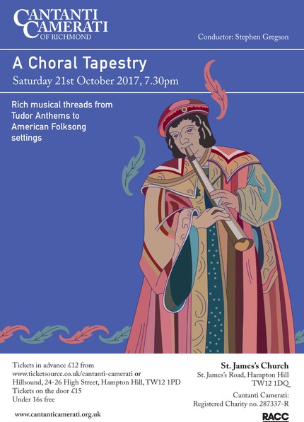 Flyer A Choral Tapestry Oct 2017