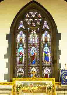 Parish east window