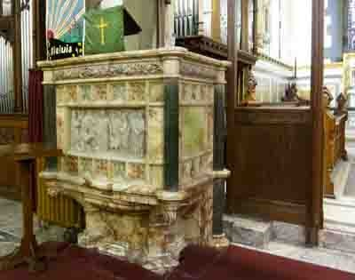 Parish pulpit