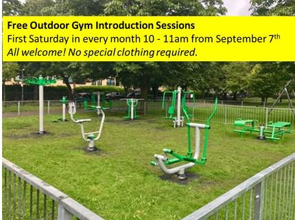 Outdoor Gym Intro Sessions