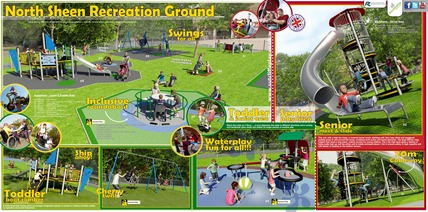 We now have the final plans for our playgrounds