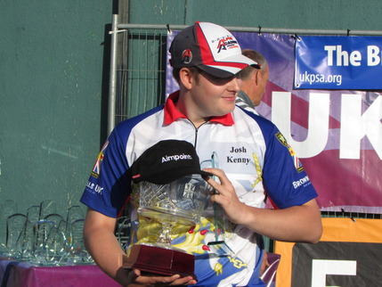 Josh Kenny with Trophy