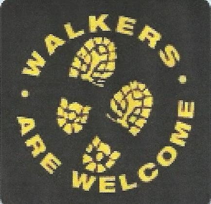 Keynsham Walkers are Welcome logo