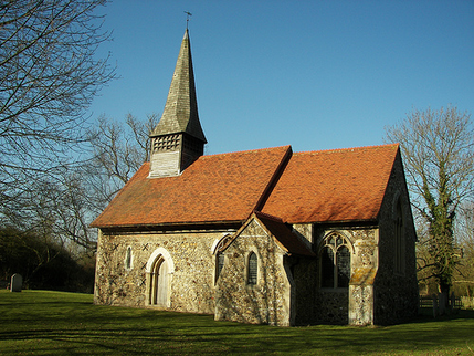 Ulting Church by the River Chelmer