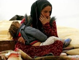 Syrian Refugee photo from Guardian article
