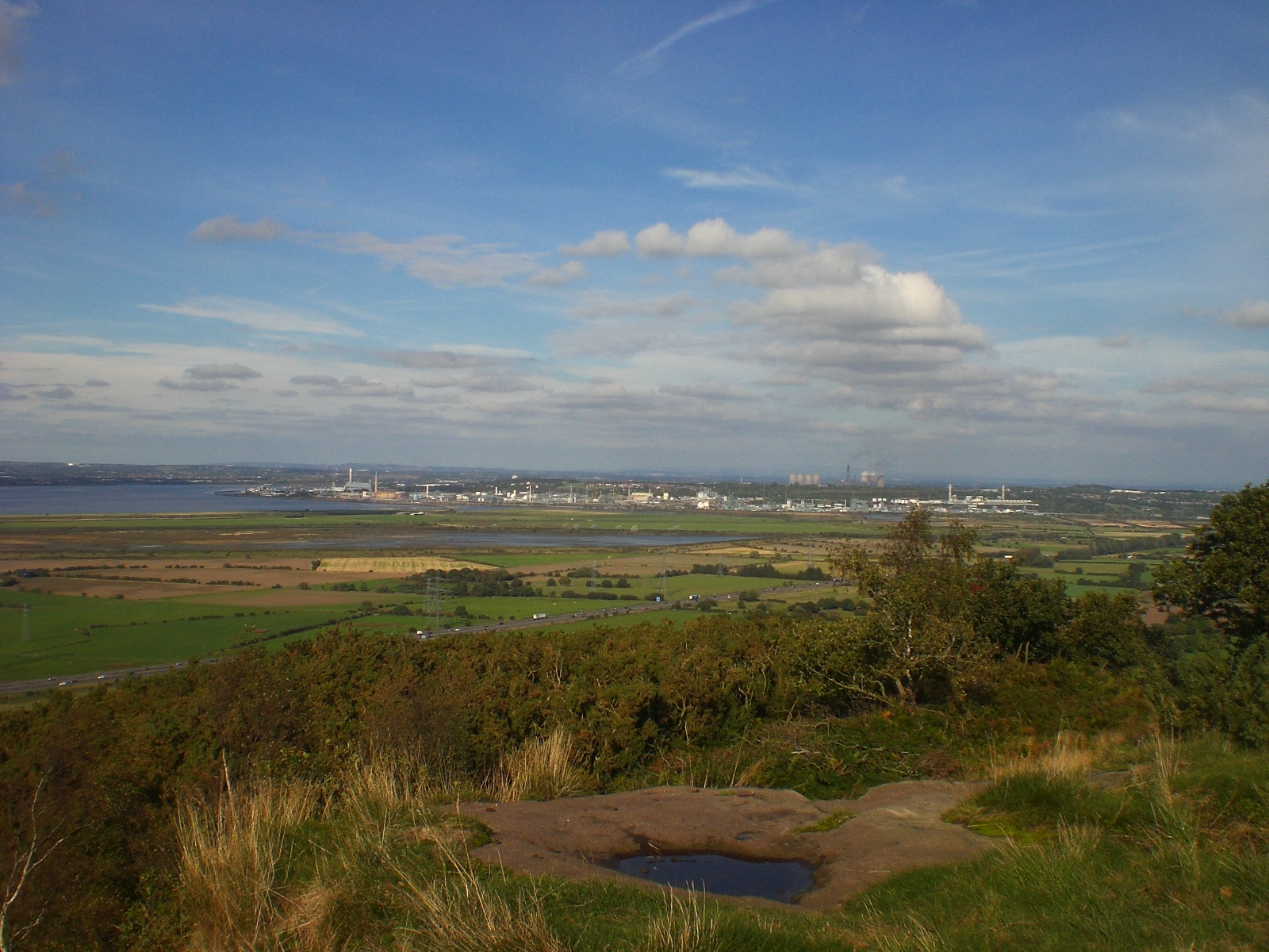 View towards Runcorn