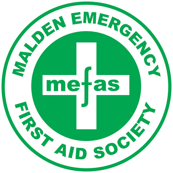 Malden Emergency First Aid Society (MEFAS) logo