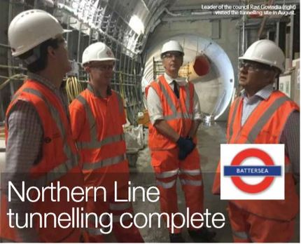 Work on the Northern Line has finished - Pic