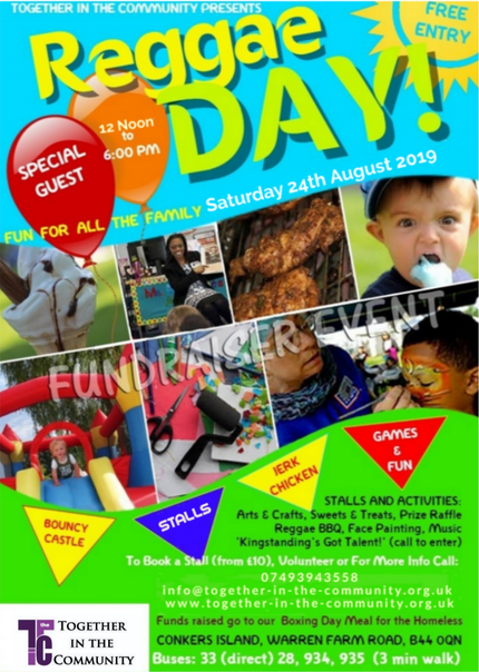 Reggae Fun Day 2019 Flyer