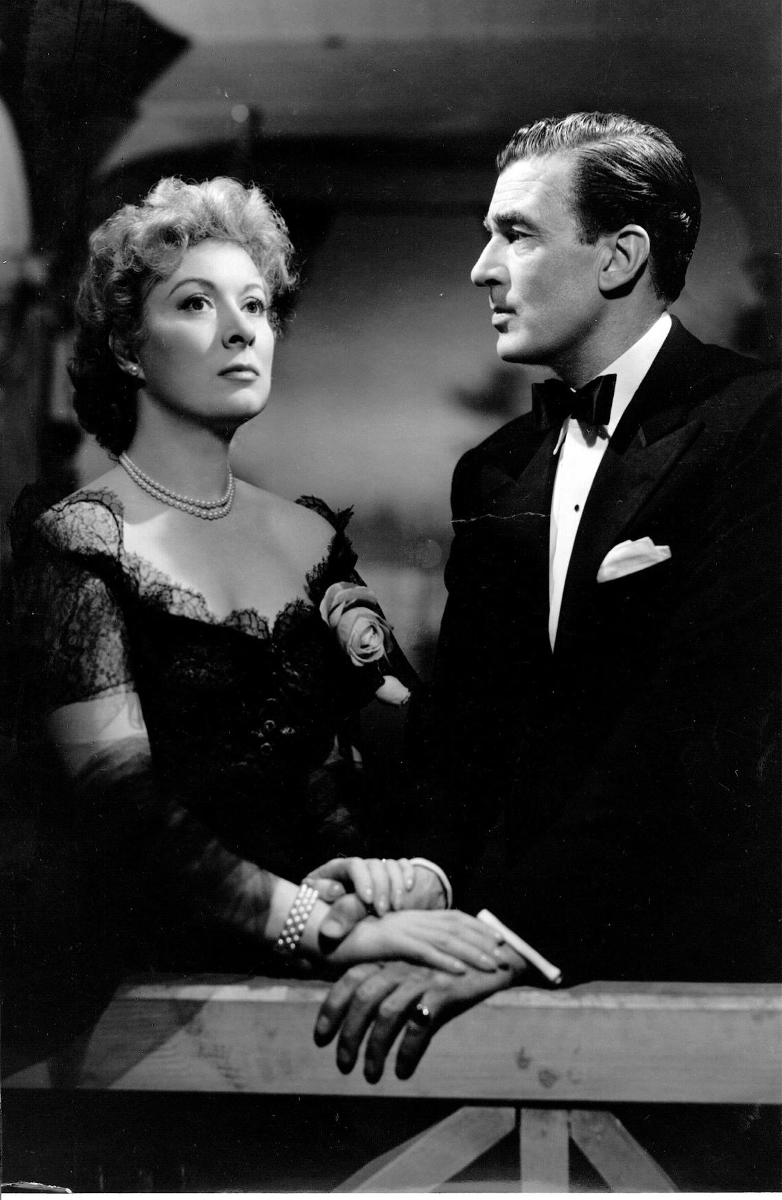 Greer Garson and Walter Pidgeon